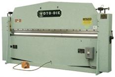 Roto-Die hydraulic sheet metal bender Model 10
